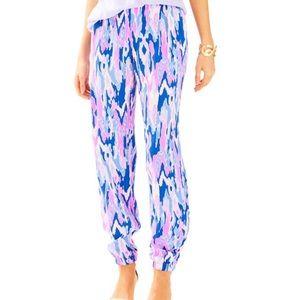 "▪️Lilly Pulitzer▪️28"" Saffron Printed Pant"